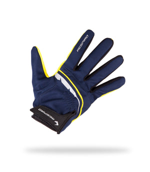 FLUX GLOVE Gloves Respiro BLUE/YELLOW M  (5457343316132)