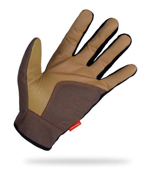 OCRA Gloves Respiro Indonesia Black/ Beige M
