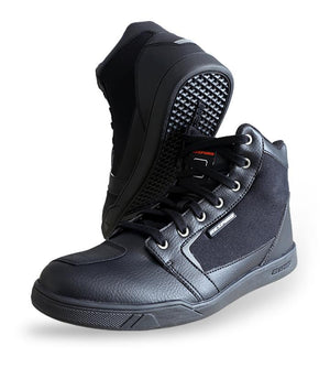 D-TRENZ ALPHA CANVAS Shoes Respiro Indonesia BLACK 42  (4015848521773)