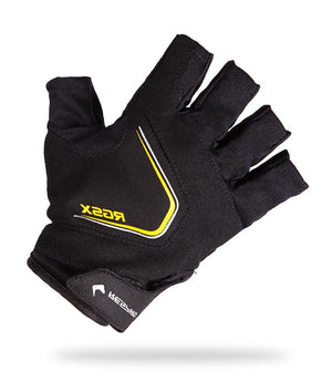 RGS X1 GLOVE Gloves Respiro BLACK / YELLOW M  (4313313181755)