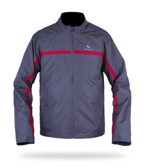 VERCTOR Jackets Respiro Indonesia Grey/ Red S  (4346818756667)