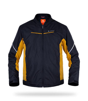 IGNITO Jackets Respiro Indonesia Black/ Yellow S
