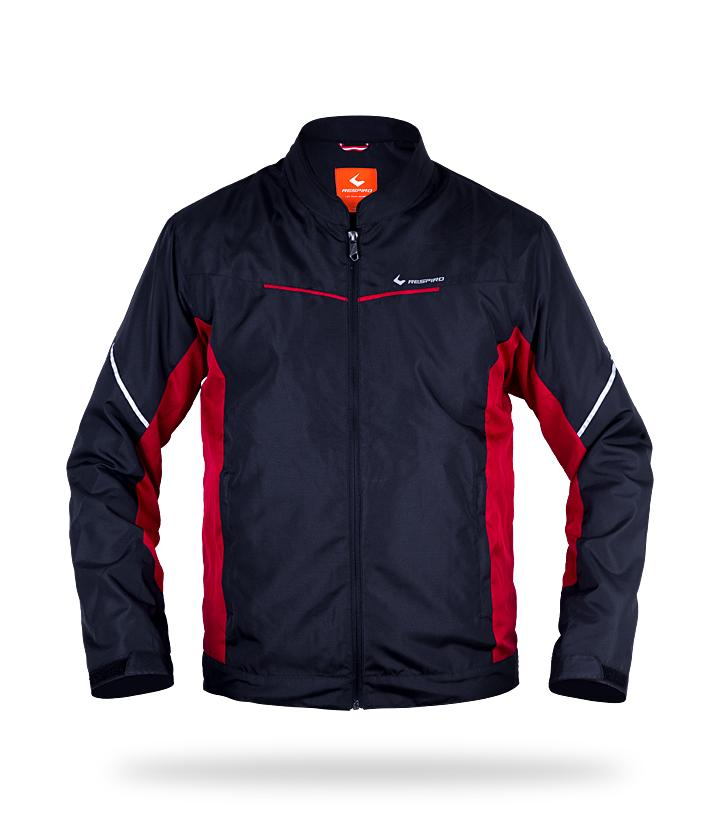 IGNITO Jackets Respiro Indonesia Black Red S  (4173690634285)