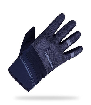 MEZO - EP Gloves Respiro Indonesia Black/ Grey M  (4015760834605)