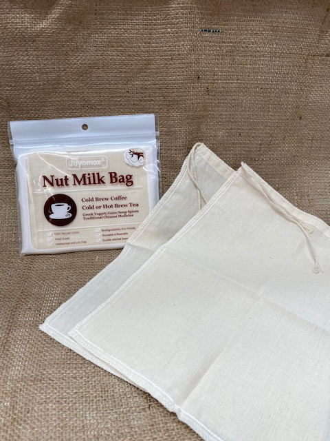 Nut Milk Bags - Premium Natural Cotton Cheesecloth Bags