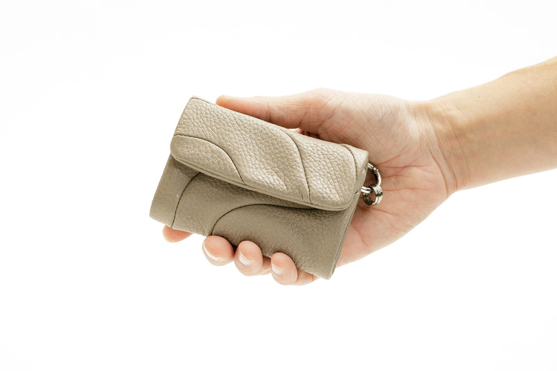 COMPACT WALLET Taupe