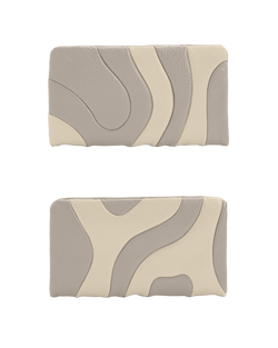 ZIPPER WALLET Taupe Custom
