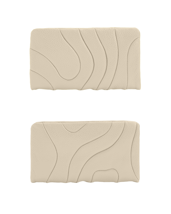 ZIPPER WALLET Ivory