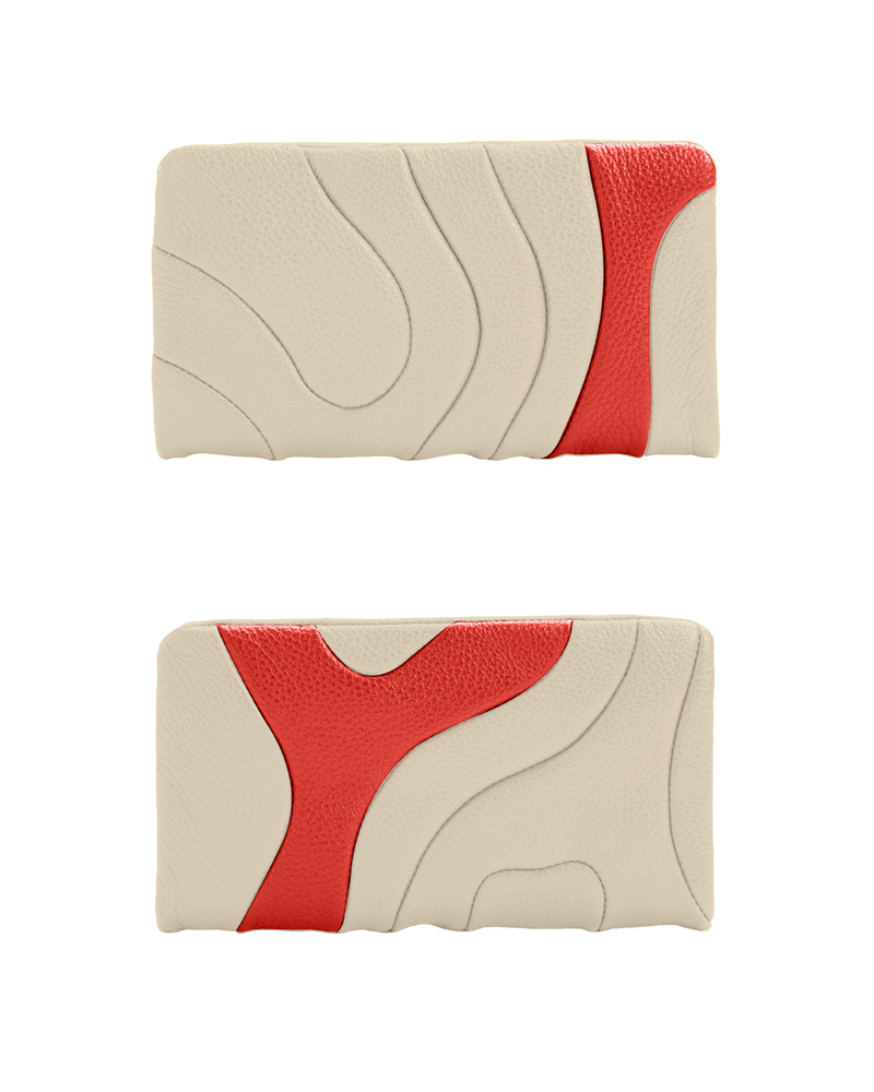 ZIPPER WALLET Ivory Custom