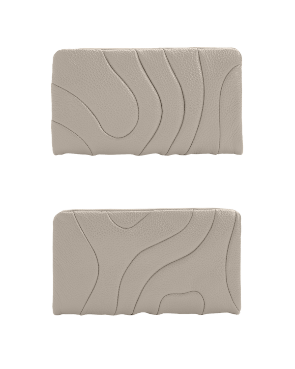 ZIPPER WALLET Taupe