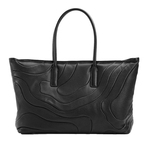 WIDE TOTE Black