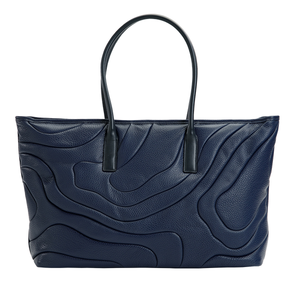 WIDE TOTE Navy