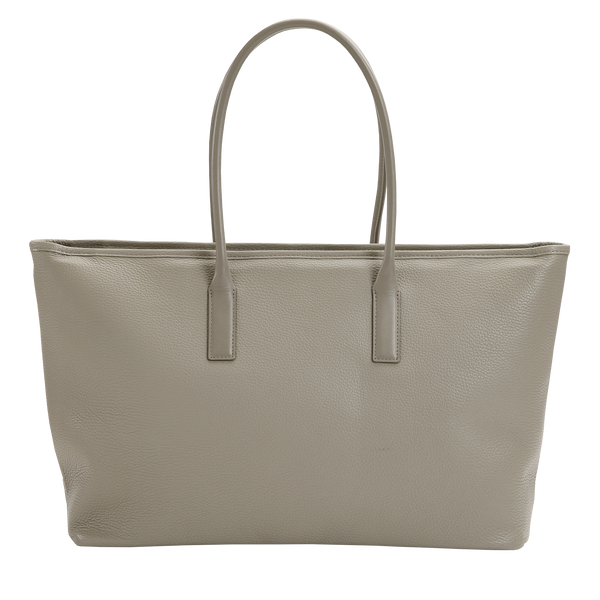 WIDE TOTE Taupe