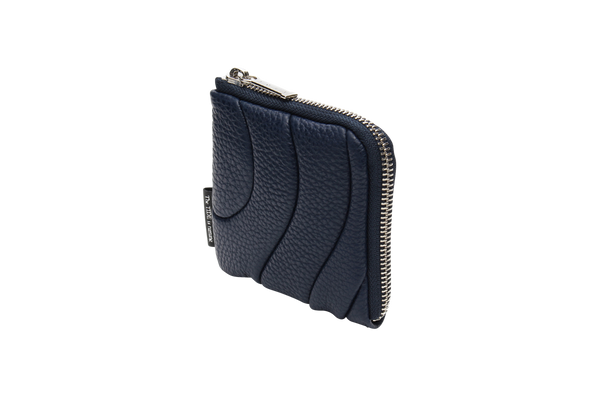 ZIPPER WALLET MINI Navy
