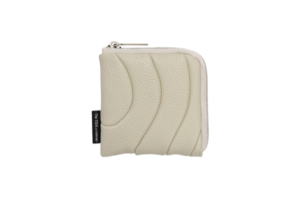 ZIPPER WALLET MINI Ivory