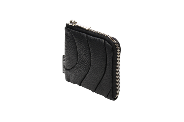 ZIPPER WALLET MINI Black