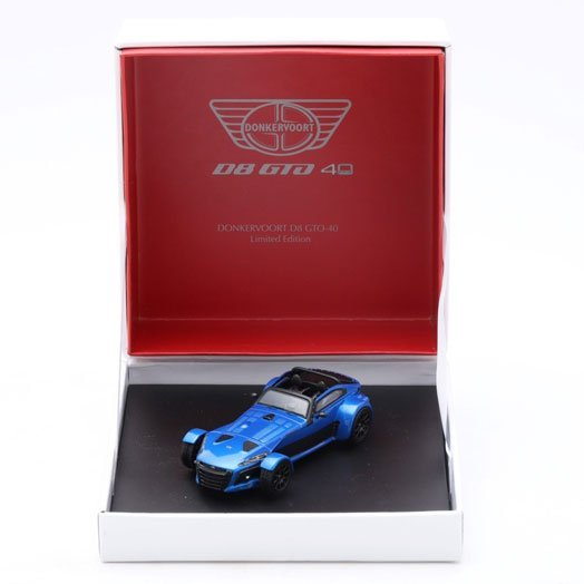 Donkervoort D8 GTO-40 1:43 // Calypso Blue