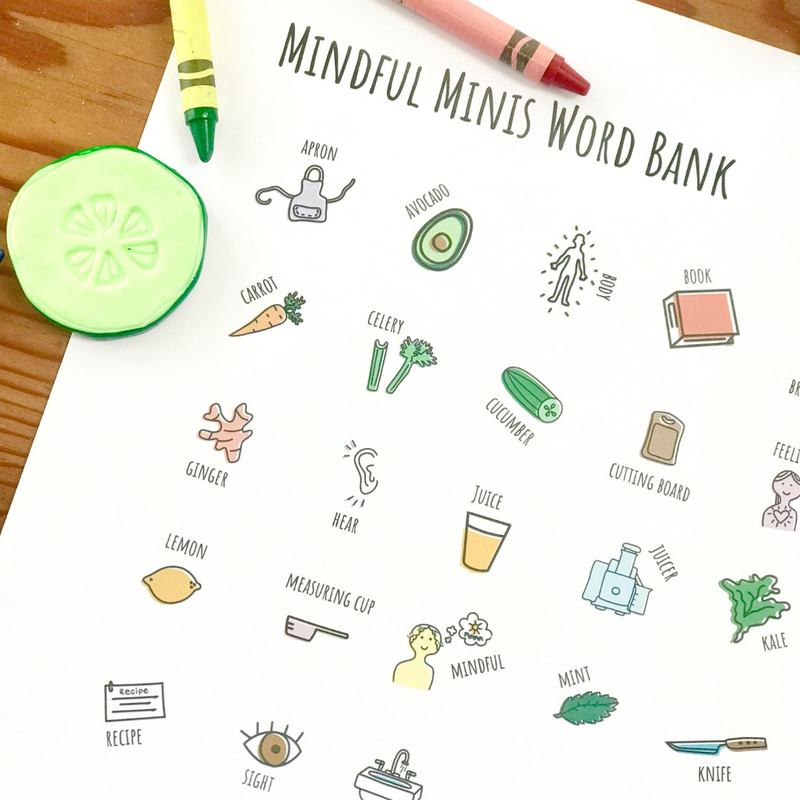 Mindful Mini Word Bank