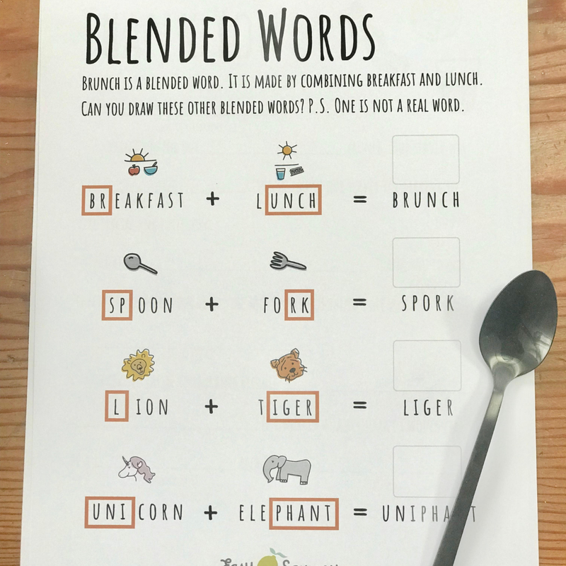 Blended Words