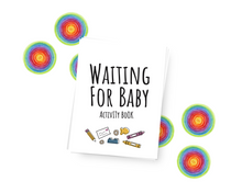 Load image into Gallery viewer, Waiting For Baby Activity Book