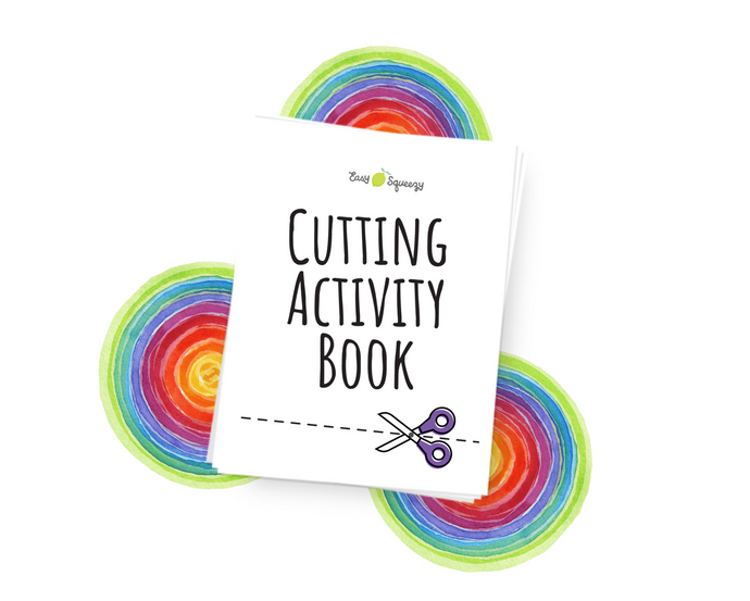 Digital Scissor Activity Book - Instant Download