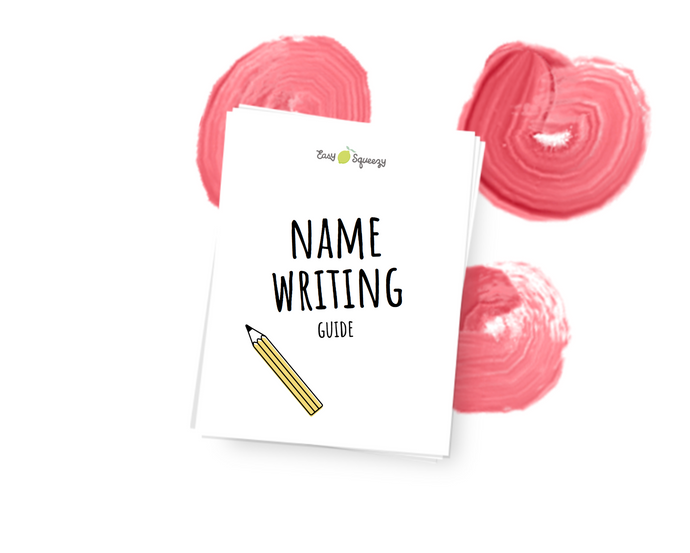 Name Writing Guide - Instant Download