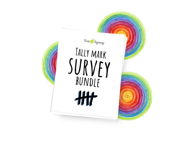 Tally Mark Survey Bundle - Instant Download