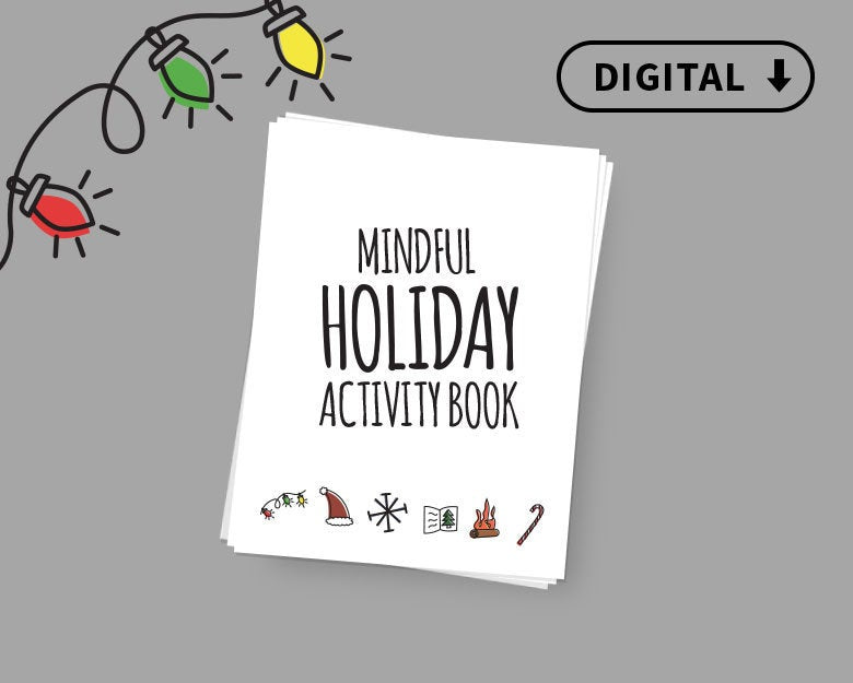 Digital Mindful Holiday Activity Book