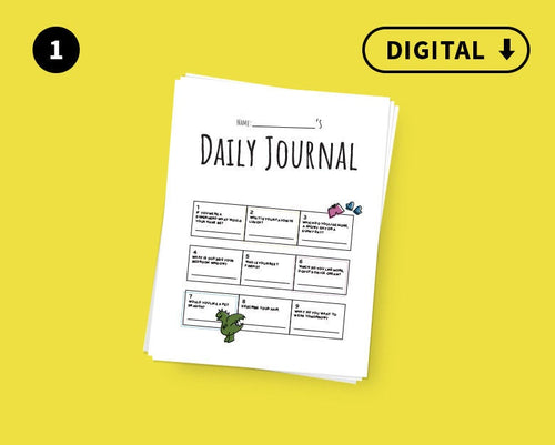 Digital Kid's Line a Day Journal : Volume 1