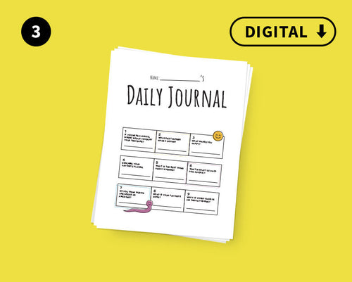 Digital Kid's Line a Day Journal: Volume 3
