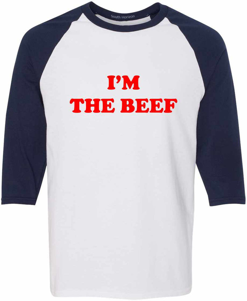 I'm The Beef Baseball Shirt