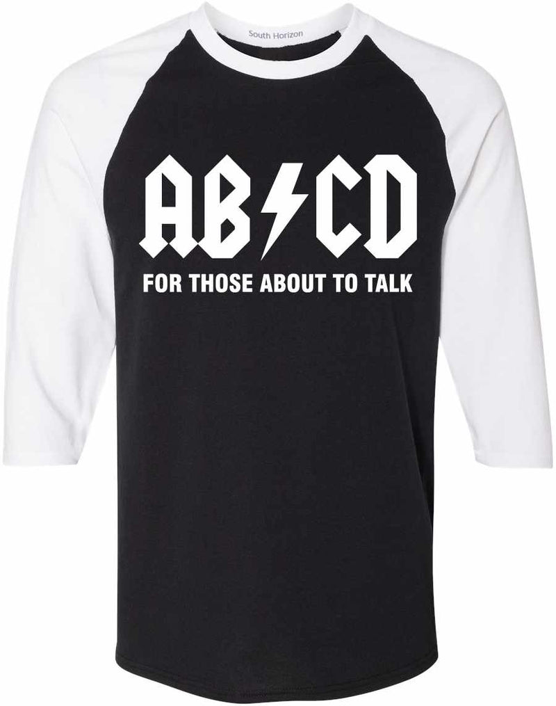ABCD For Those About To Talk Adult Baseball