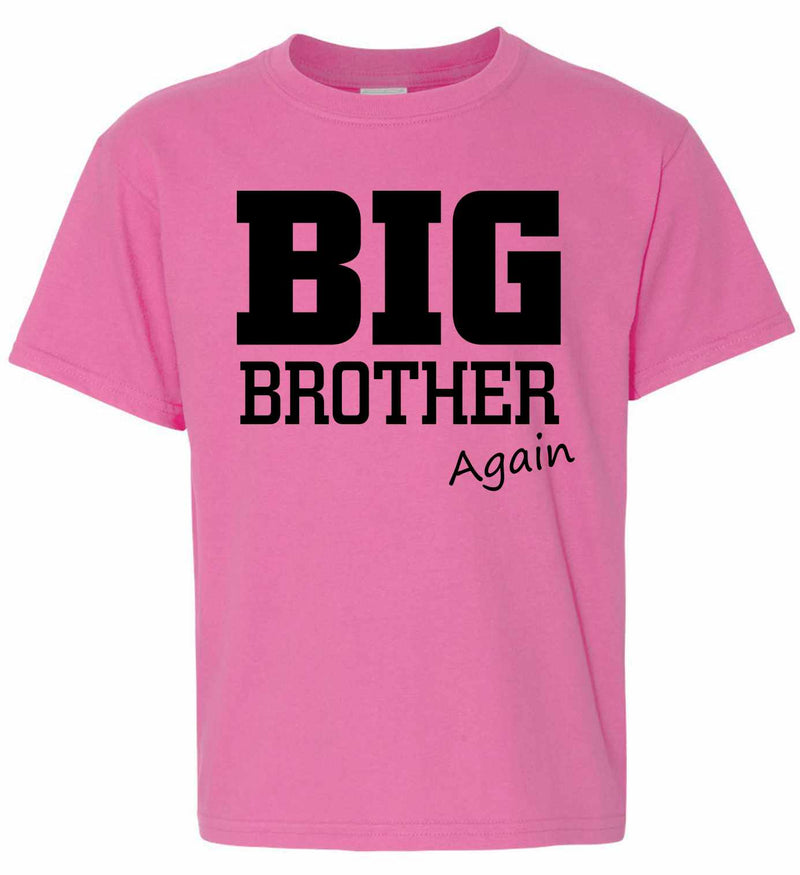 Big Brother - Again on Kids T-Shirt
