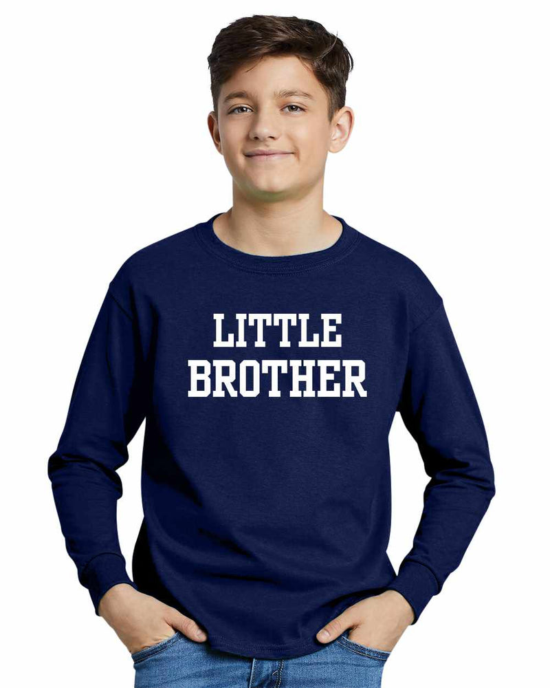 LITTLE BROTHER on Youth Long Sleeve Shirt