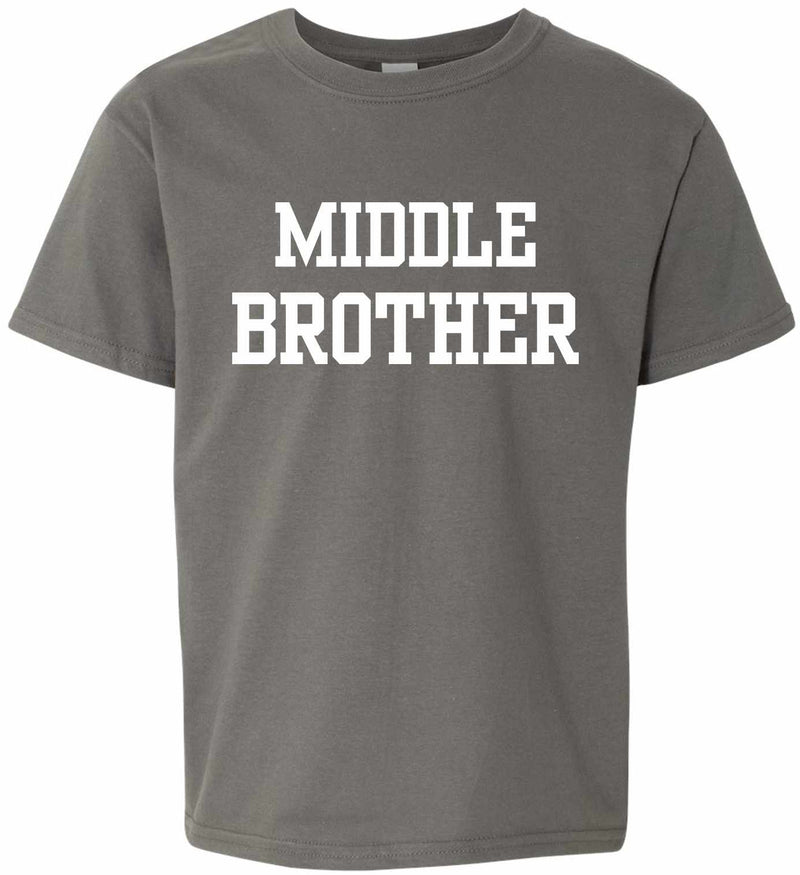 MIDDLE BROTHER on Kids T-Shirt