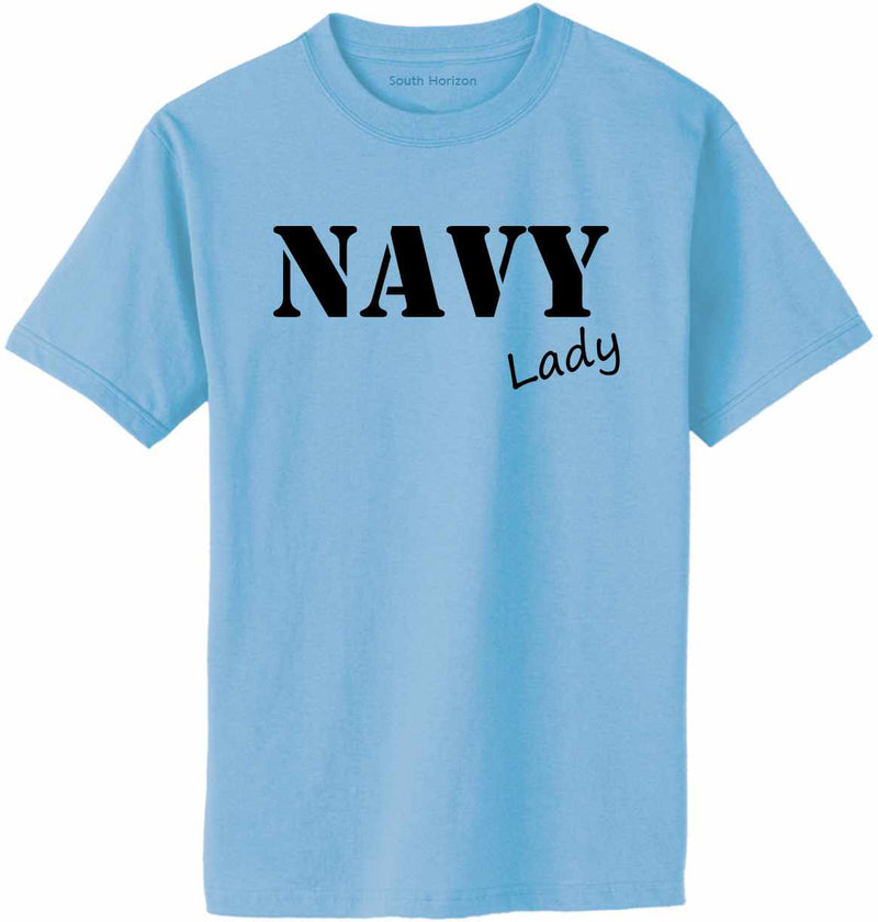 NAVY Lady Adult T-Shirt