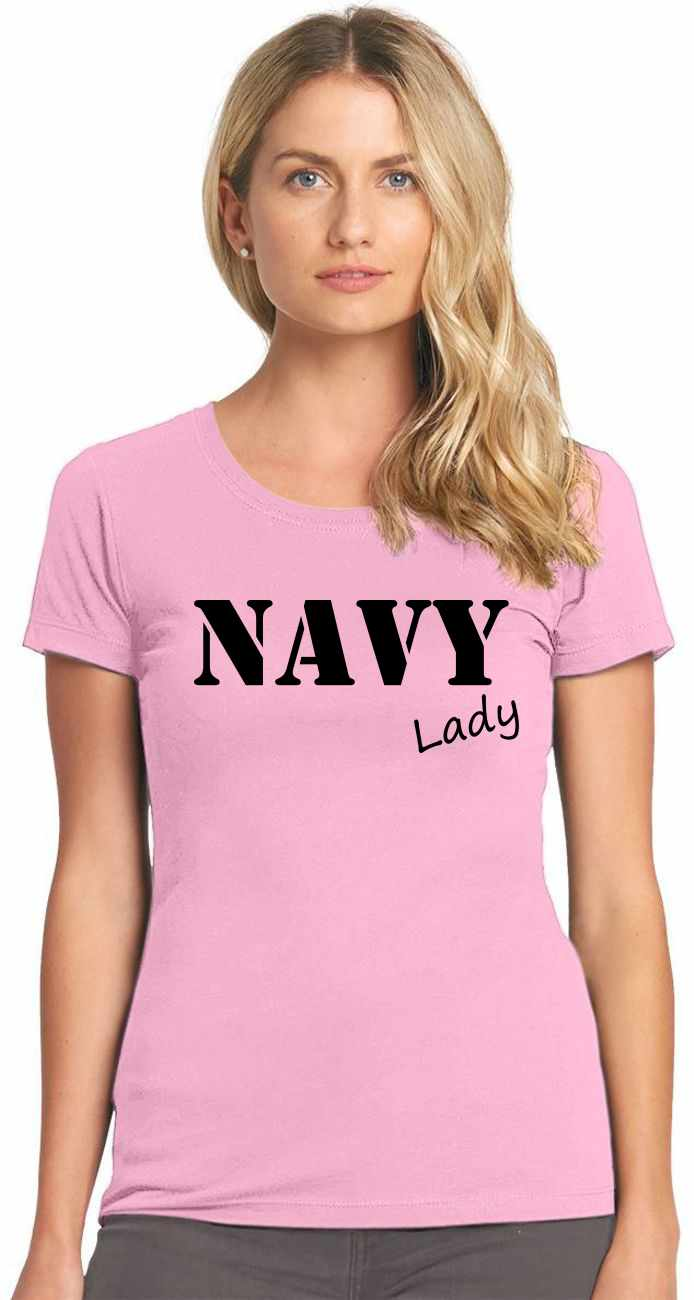 NAVY Lady Womens T-Shirt