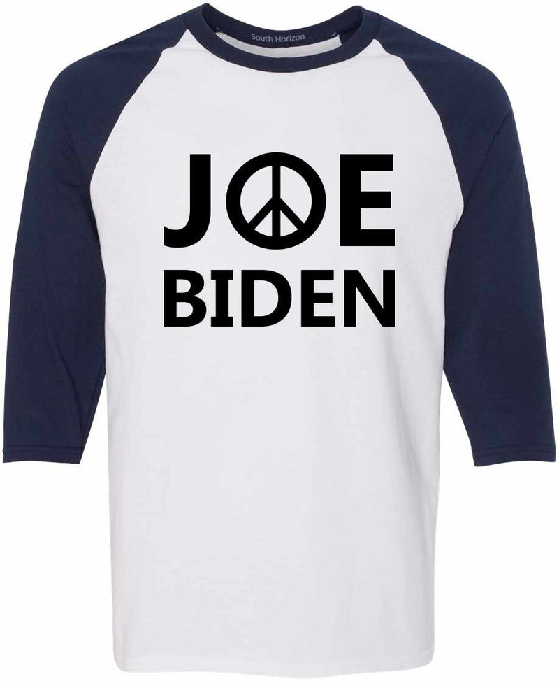 JOE BIDEN - Peace Sign Baseball Shirt