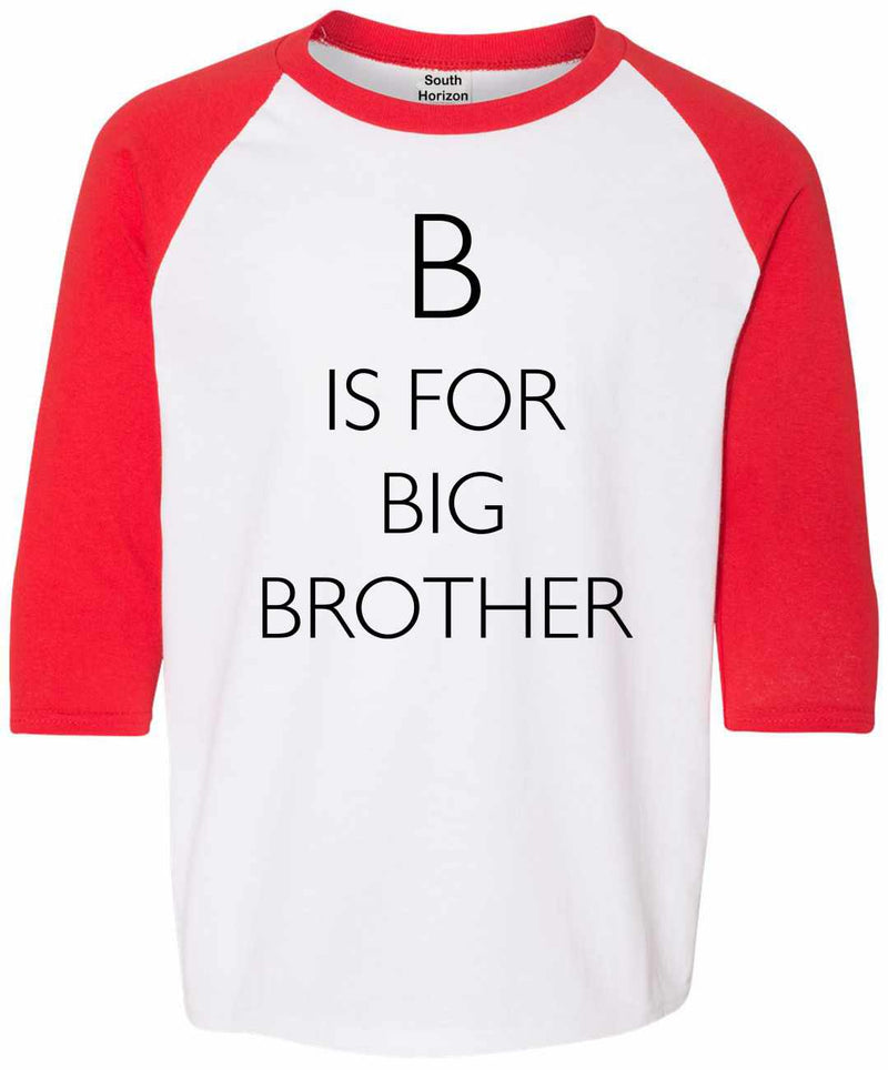 B is for Big Brother Youth Baseball