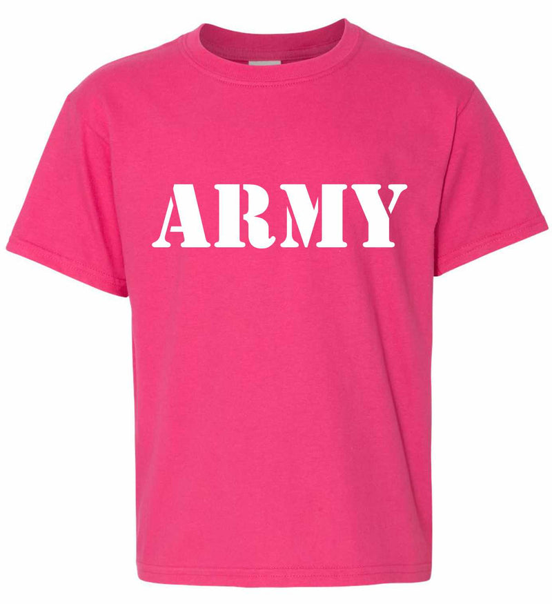 ARMY on Kids T-Shirt