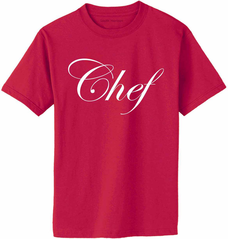 Chef Adult T-Shirt