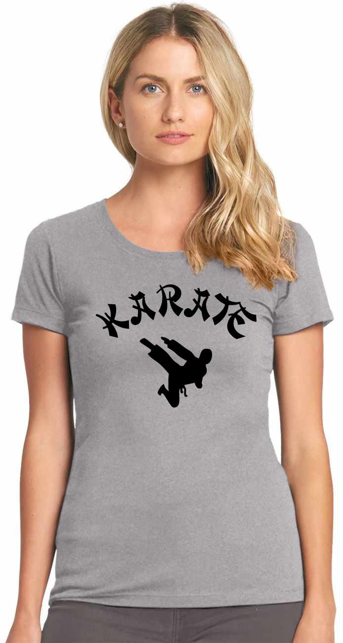 KARATE on Womens T-Shirt