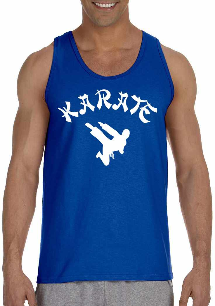 KARATE on Mens Tank Top