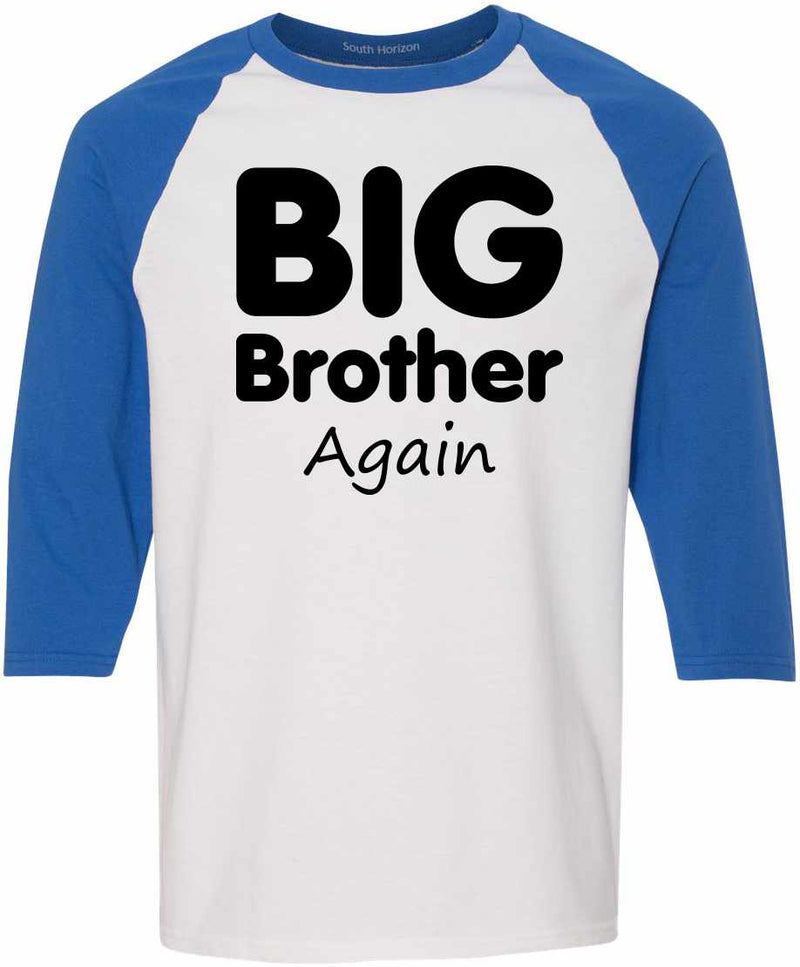Big Brother Again Adult Baseball