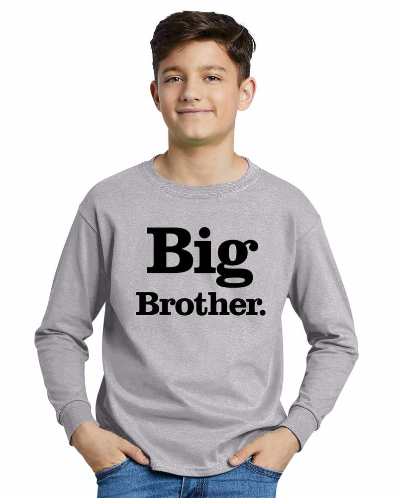 Big Brother (period) on Youth Long Sleeve Shirt
