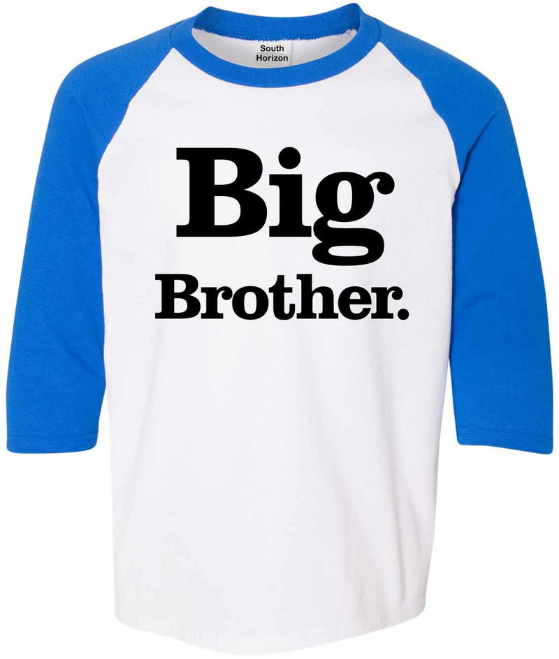 Big Brother (period) on Youth Baseball Shirt