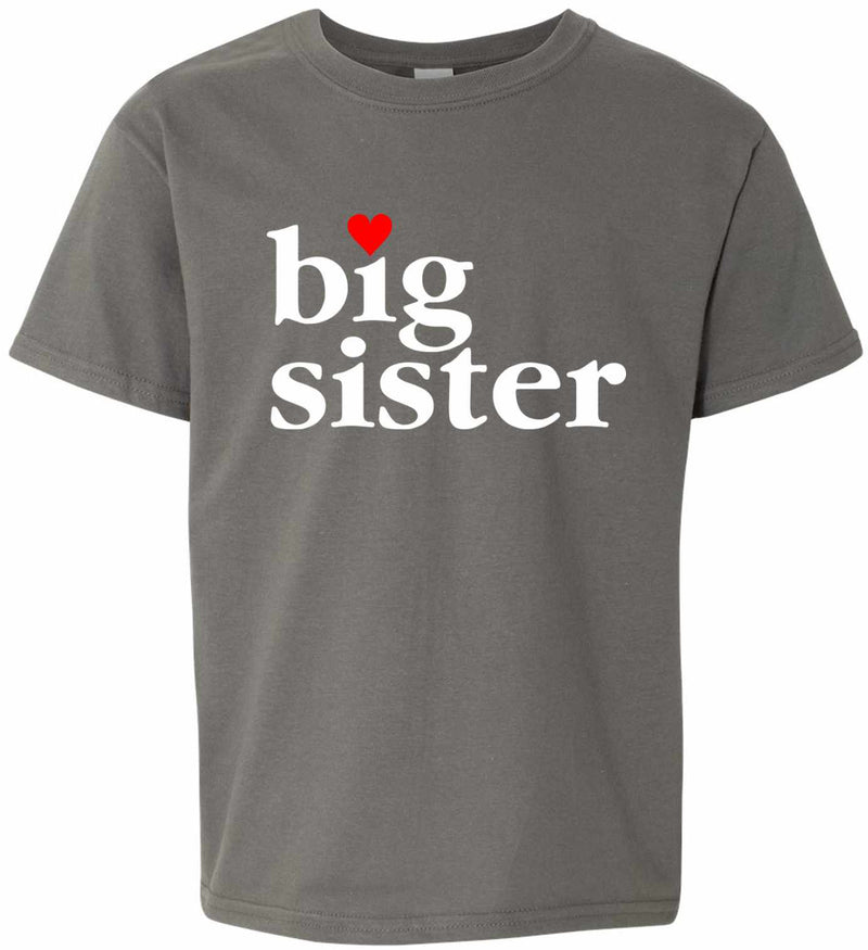 Big Sister on Kids T-Shirt