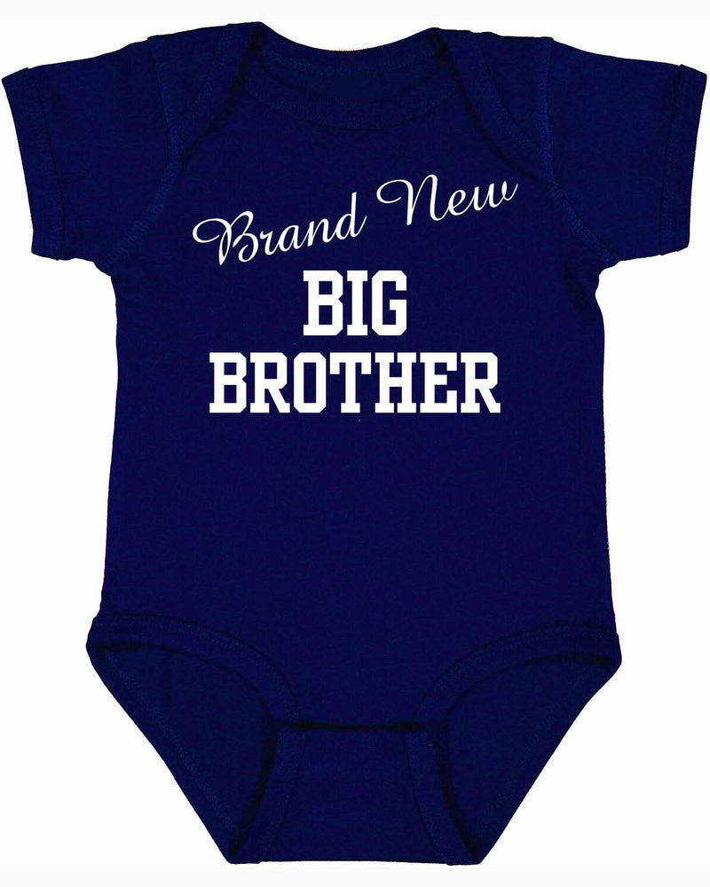 Brand New Big Brother on Infant BodySuit