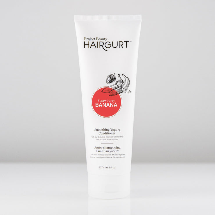 HAIRGURT STRAWBERRY-BANANA SMOOTHING YOGURT HAIR CONDITIONER