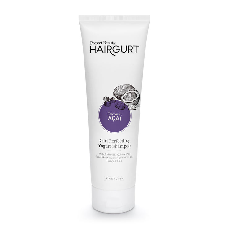 HAIRGURT COCONUT-ACAI CURL PERFECTING YOGURT SHAMPOO